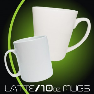 Latte/10oz Mugs