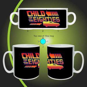 Child of the eighties mug