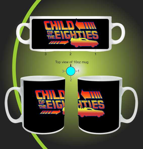 Child of the eighties mug