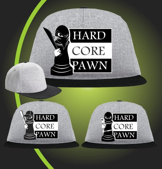 Hard Core Pawn design cap