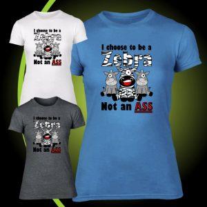 choose to be a zebra tshirt 2
