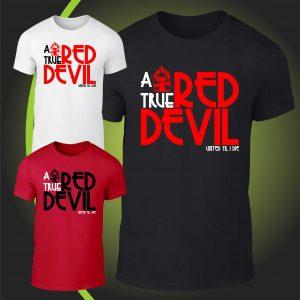 A true RED DEVIL tshirt