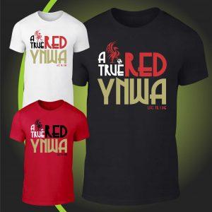 A true Red YNWA tshirt