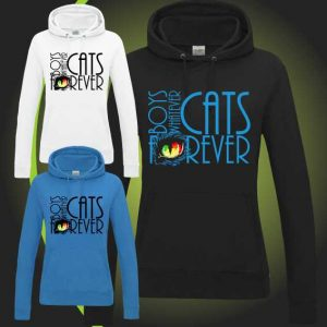 BOYS WHATEVER CATS FOREVER hoody