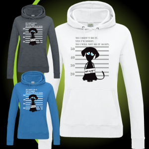DOG ARESTED DESIGN hoody