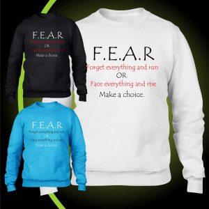 F.E.A.R sweatshirt