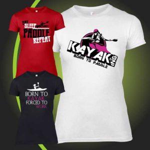 KAYAK DESIGNS FEMALE tshirt 1