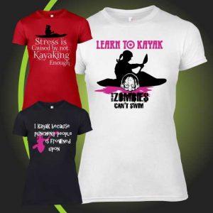KAYAK DESIGNS FEMALE tshirt 2