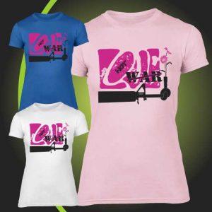 Love not war tshirt