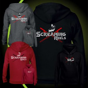 Screaming reels fishing HOODY