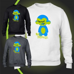 bad monkey sweatshirt